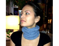 Braga de cuello azul