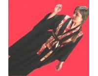 """Kimono con tela """"Fuego"""""""
