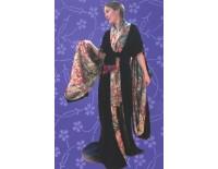 Kimono Mujer con piel
