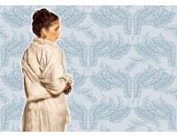 Kimono Agua con piel